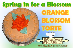 ORANGE BLOSSOM TORTES